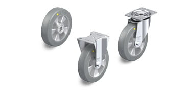 ALST-AS electrically conductive and antistatic wheels and castors