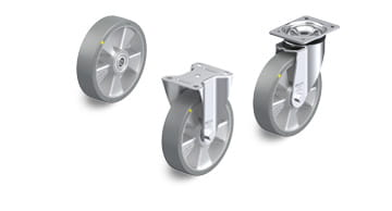 ALTH-AS electrically conductive and antistatic wheels and castors